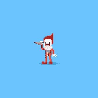 Pixel killer clown.