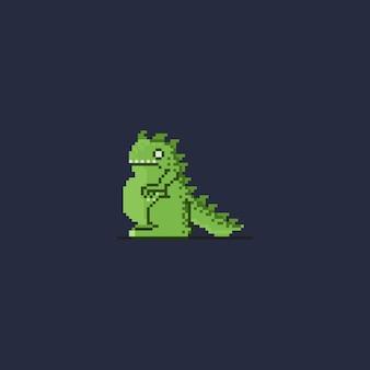 Pixel little kaiju