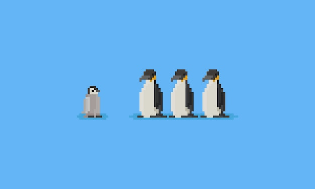 ピクセルペンギン