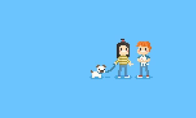 Пиксельный любимый персонаж