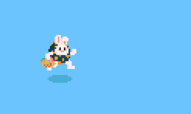 Pixel rabbit