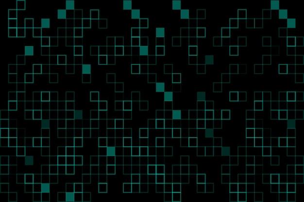 Pixel rain background in abstract design
