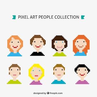 Pixelated коллекция аватар