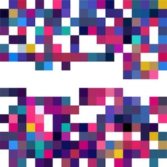 Pixelated 기하학적 배경