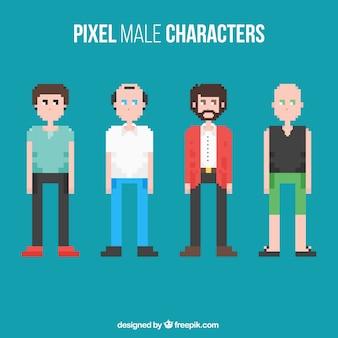 Неровной мужские персонажи