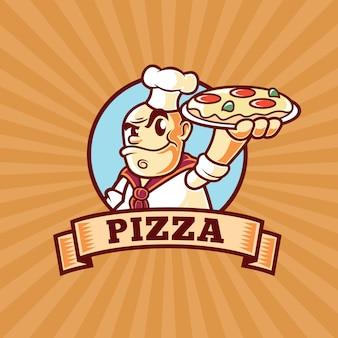 Логотип pizza chef