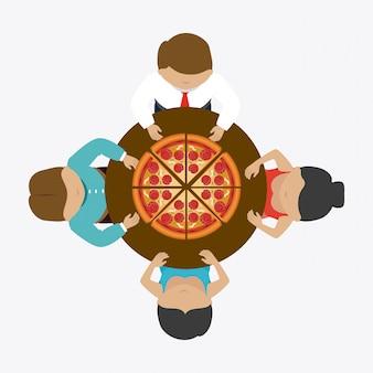 Pizza design.