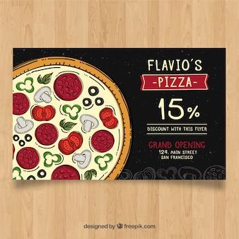 Pizza discount brochure