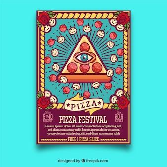 Pizza festival poster