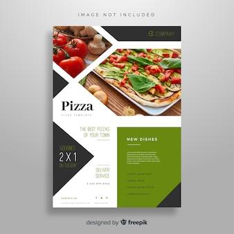 전단지 템플릿-피자
