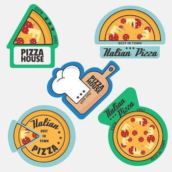 피자 로고 컬렉션