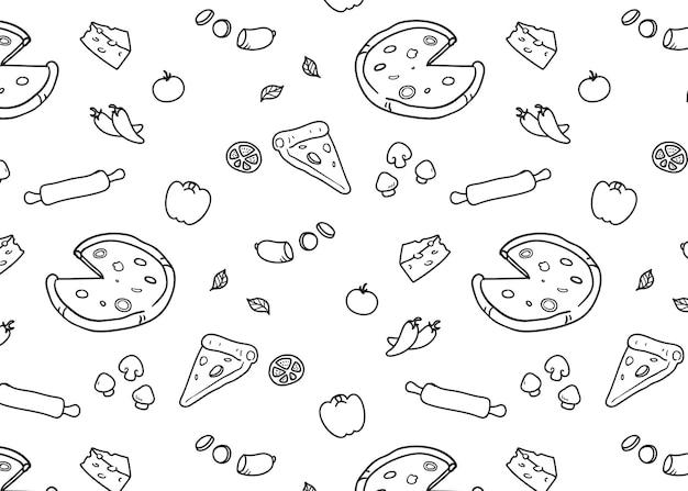 ピザのパターン