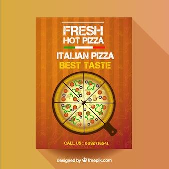 피자 포스터 템플릿
