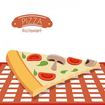 Pizza restaurant fast food