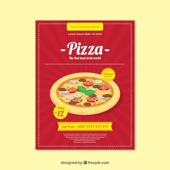 Pizza restaurant poster