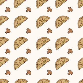 피자 원활한 패턴