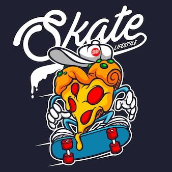 Pizza skate мультипликационный персонаж