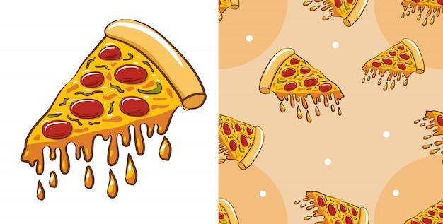 Pizza vector graphic design