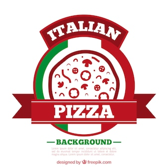Логотип логотипа pizza