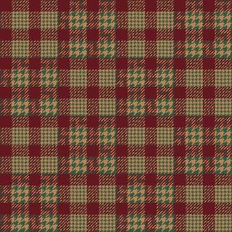 Plaid fabric pattern