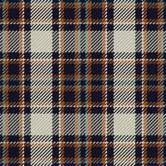 Plaid fabric seamless pattern