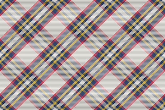 Plaid pattern seamless. check fabric texture. stripe square background. textile d