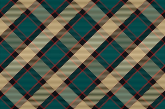 Plaid pattern seamless. check fabric texture. stripe square background. textile design tartan.