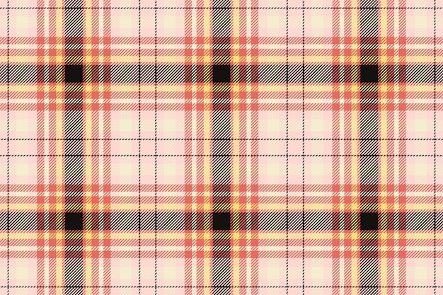 Plaid pattern seamless. check fabric texture. stripe square background. vector textile design. tartan backdrop.