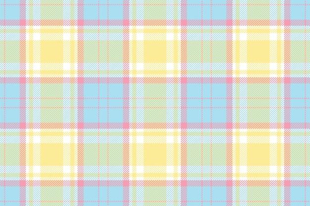 원활한 격자 무늬 패턴입니다. 패브릭 질감을 확인하십시오. 스트라이프 사각형 배경입니다. 벡터 섬유 디자인. 타탄 배경.