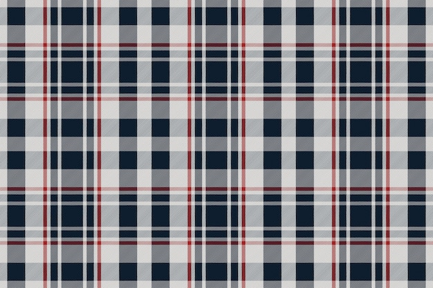 Plaid pattern seamless. check fabric texture. stripe square background. vector textile design tartan Premium Vector