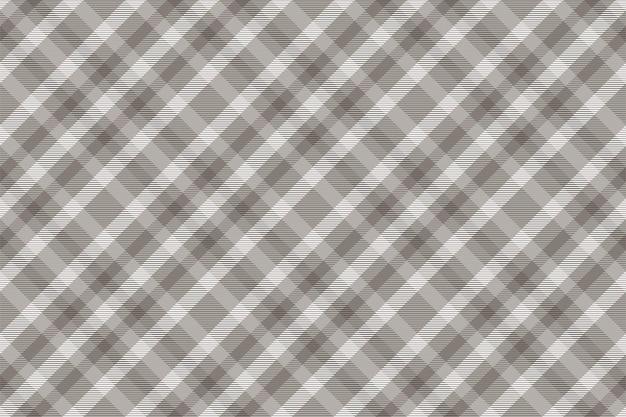 シームレスなチェック柄。生地の質感を確認してください。ストライプの正方形の背景。ベクトルテキスタイルデザインタータン