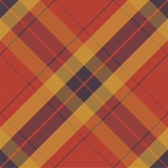 원활한 격자 무늬 패턴입니다. 패브릭 질감을 확인하십시오. 스트라이프 사각형 배경입니다. 벡터 섬유 디자인 타탄.