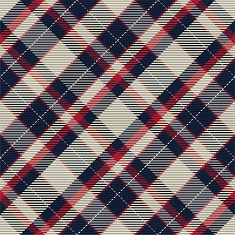 Plaid pattern seamless. check fabric texture. stripe square background. vector textile design tartan.