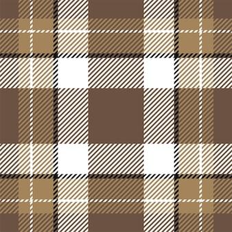 원활한 격자 무늬 패턴입니다. 패브릭 질감 확인