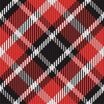 Plaid pattern seamless