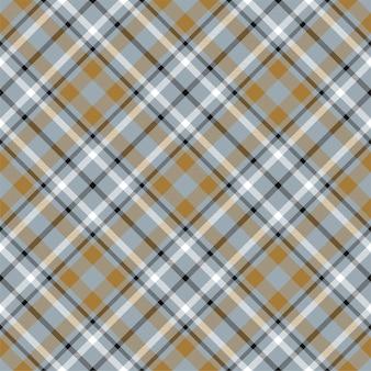 Plaid seamless pattern. stripe fabric texture. check square background. tartan vector textile design.