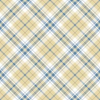 チェック柄のシームレスパターン。縞模様の生地の質感。正方形の背景を確認してください。