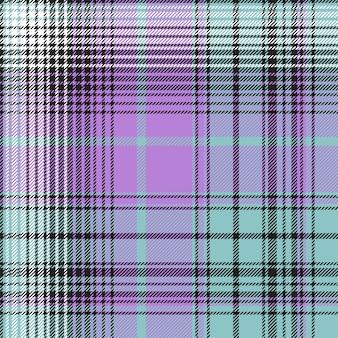격자 무늬 직물 타탄 원활한 패턴