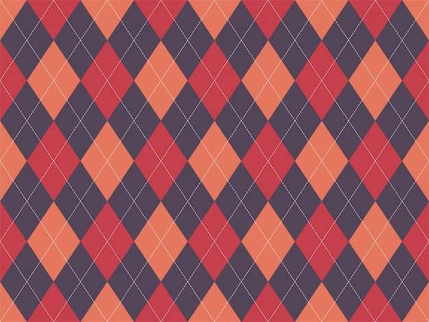 Plaid textile tartan seamless pattern