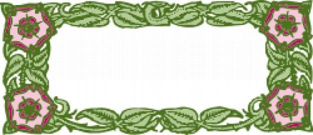 Plain classic nature frame