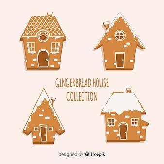Plain gingerbread house pack