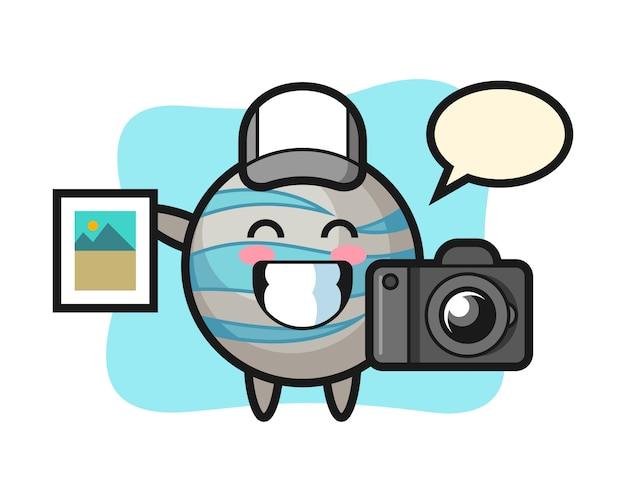 写真家としての惑星漫画