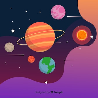 Planets from solar system