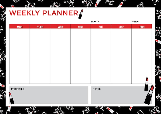 Planner a4