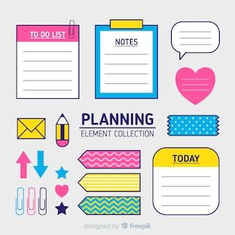Сбор элементов планирования