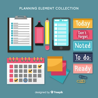Planning elements sample