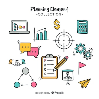 Planning elements set