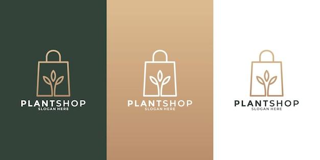 귀하의 비즈니스를 위한 황금색으로 공장 상점 로고 디자인 템플릿