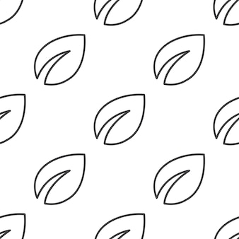 Растение, вектор бесшовные модели, редактируемый может использоваться для фонов веб-страницы, узорные заливки