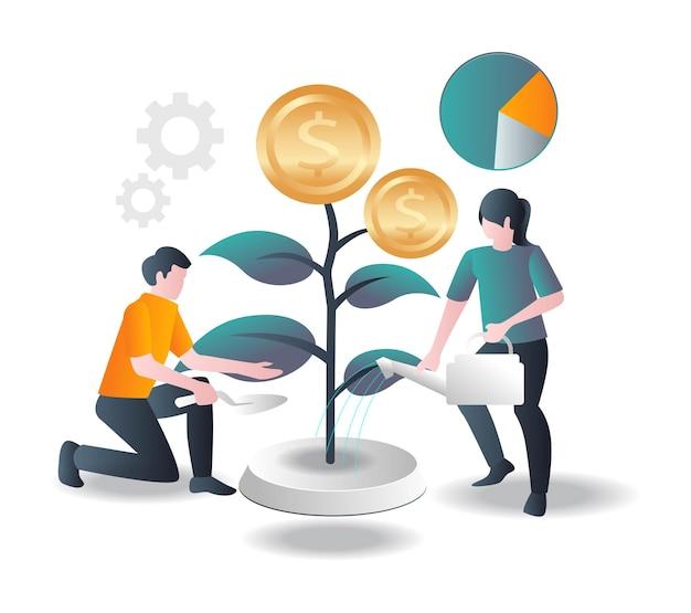 Посадка и уход за инвестиционными деревьями